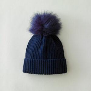 bonnet bleu chaud cocooning