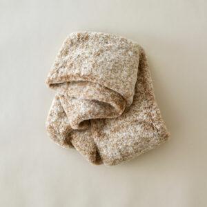 écharpe chaude cocooning beige