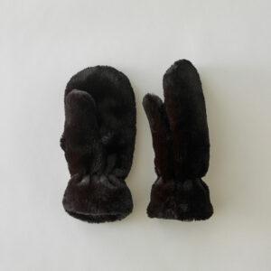 gants moufles doux et chaud